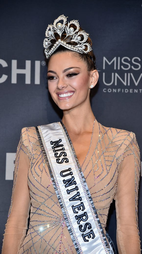 Miss Universe 2017 Demi-Leigh Nel-Peters appears in