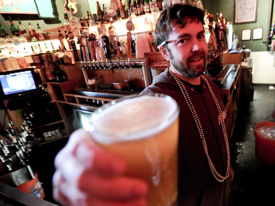 Bartender Brian Jenkins.