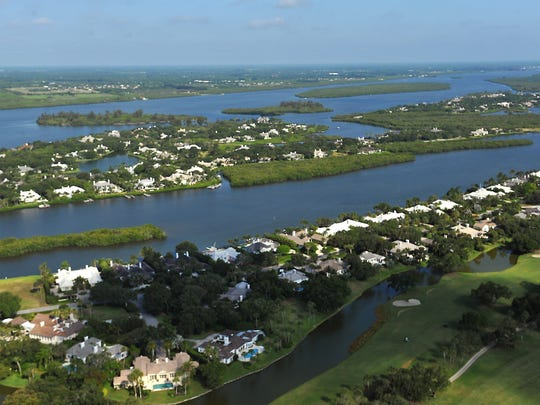 Views of the Indian River Lagoon and John's Island