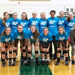 The Novi girls volleyball team captured its own tourney with a victory in the finals over Macomb Dakota.