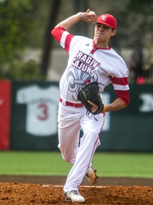 Nick Lee went 6.2 innings for UL in its series-sweeping win over Georgia State on Saturday at M.L. Tigue Moore Field.