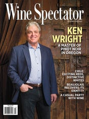 Oregon winemaker Ken Wright is featured on the cover of the May 31 issue of Wine Spectator.