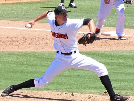 Right-handed pitcher Ben Meyer was awarded Pitcher