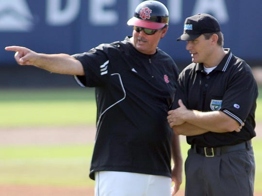 NFC baseball coach and athletic director Mike Posey