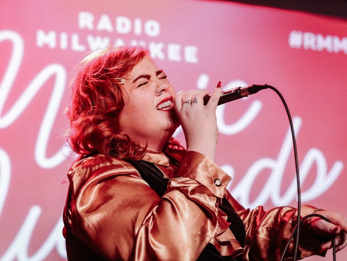 "Milwaukee's Abby Jeanne describes her sound as ""rock"