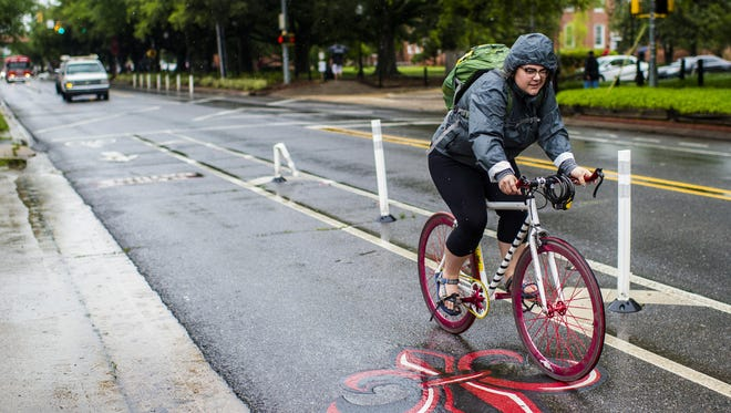 FILE -- Louisiana has the third-highest rate of bicyclist deaths in the nation.