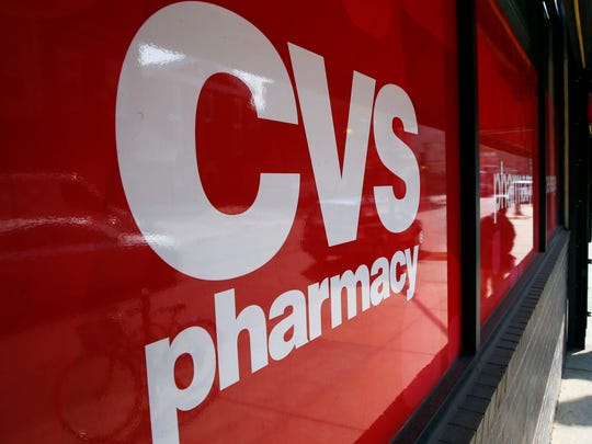 FILE: The front of a CVS store.