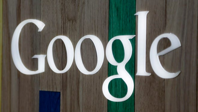 A Google logo inside a Florida store.