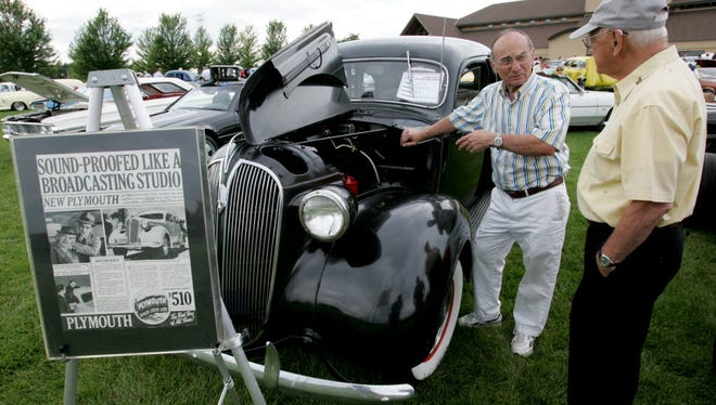 """It's classic vehicle night at the Wilson Center's """"Starry Nights"""" outdoor concert series July 13."""