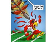 LAST CHANCE: FSU vs Louisville Game Day Poster
