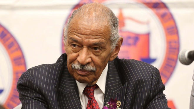 U.S. Rep. John Conyers Jr. in 2015. A former staffer who has accused the Democratic congressman from Detroit of sexual harassment said Thursday, Nov. 30, 2017, that Conyers created a hostile work environment for his female staffers.