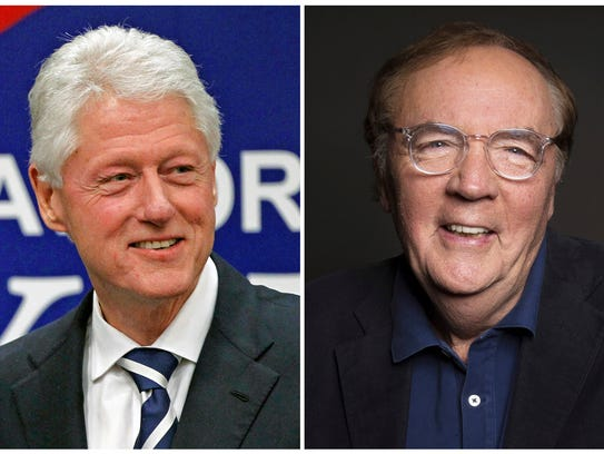 Former president Bill Clinton and author James Patterson