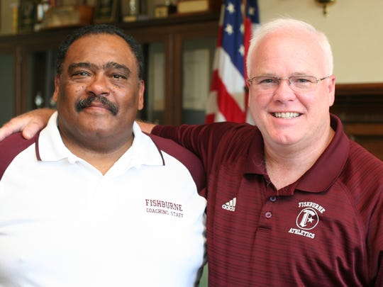 Terry Water and Chip Hill, new coaches at Fishburne