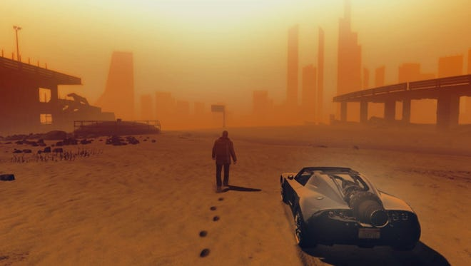 "The science-fiction landscape is spectular in ""Blade Runner 2049."""