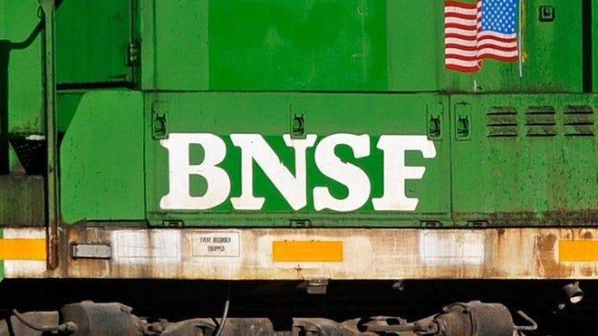 A BNSF train