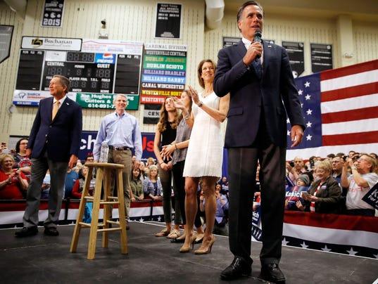 John Kasich, Mitt Romney