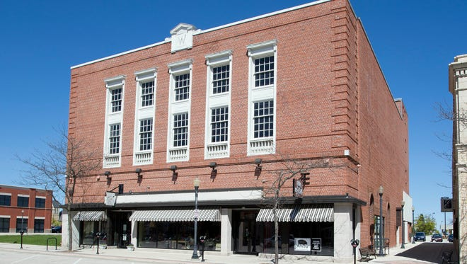 The exterior of the Black Pig building Tuesday May 17, 2016 in Sheboygan. The Black Pig will open up The Berkshire Room banquet facility in the third and fourth floors of its downtown Sheboygan restaurant in September.
