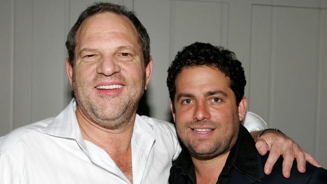 Harvey Weinstein and Brett Ratner in 2005.