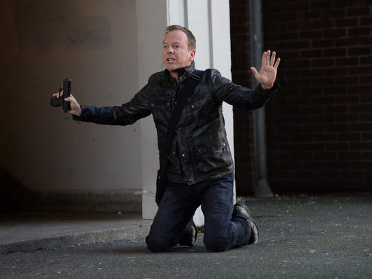 24:  LIVE ANOTHER DAY:  Kiefer Sutherland as Jack Bauer.  24:  LIVE ANOTHER DAY is set to premiere Monday, May 5 with a special season premiere, two-hour episode (8:00-10:00 PM ET/PT) on FOX.    HANDOUT Photo by Daniel Smith, FOX 2014 Fox Broadcasting Co.   [Via MerlinFTP Drop]