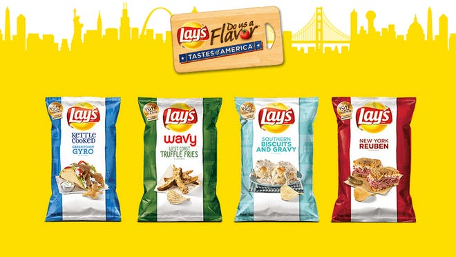 All of Lay's Do Us a Flavor chip flavors.