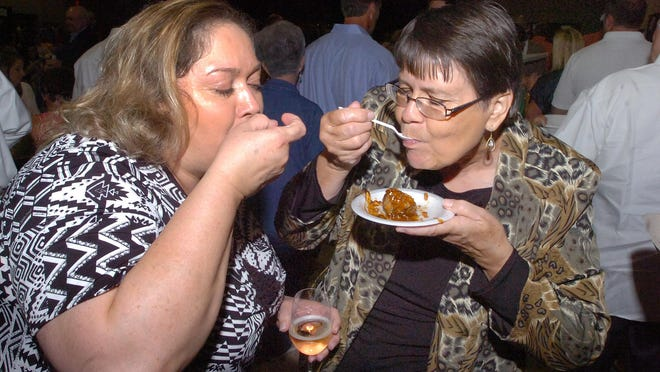 In this Advertiser file photo, attendees sample dishes at the annual Soiree Royale event in Opelousas.
