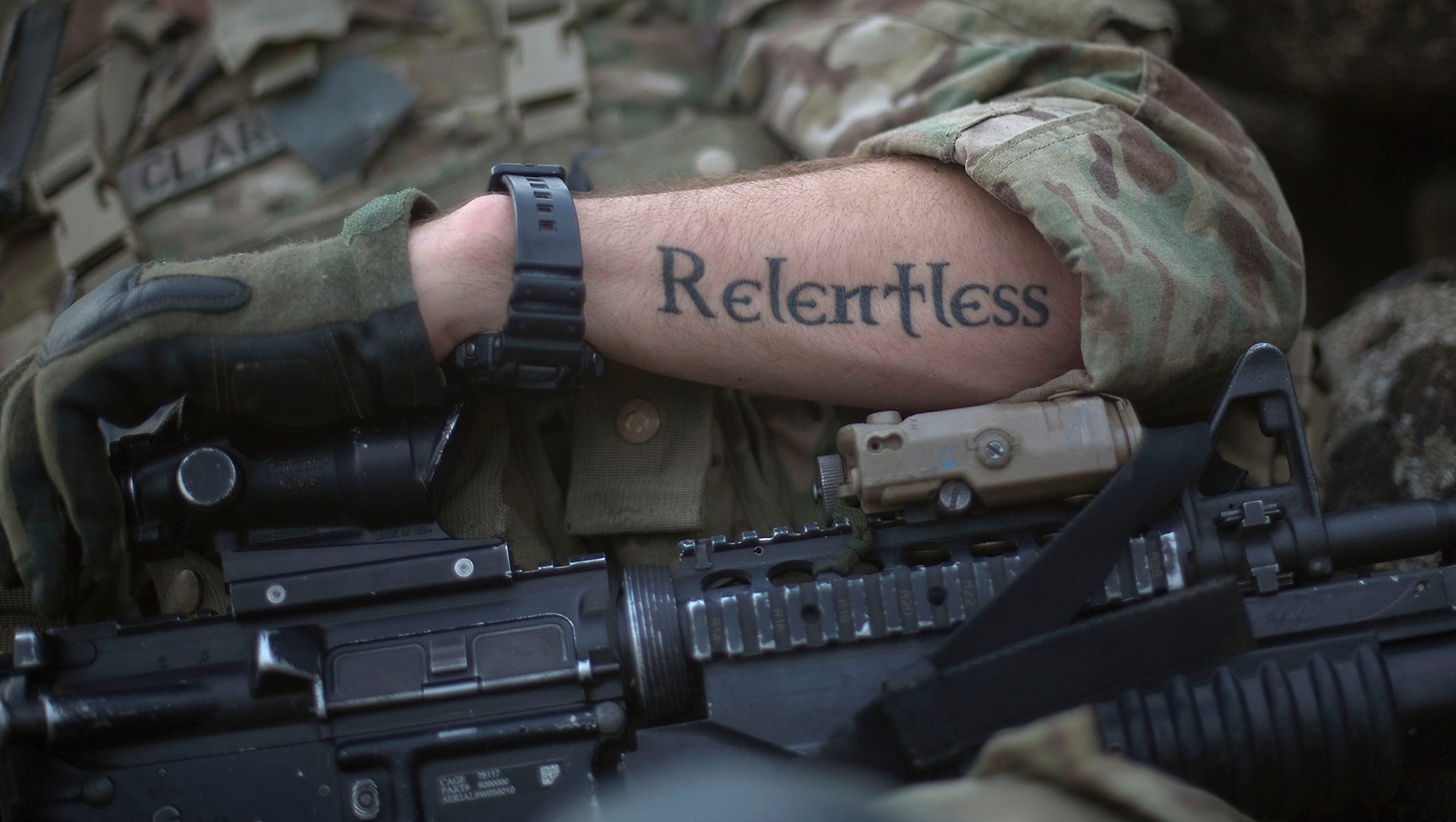 Army Eases Rules On Tattoos