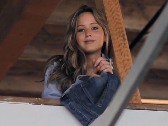 "Jennifer Lawrence in the 2011 film ""Like Crazy."""