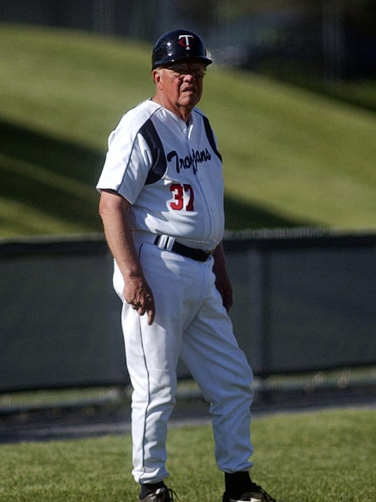 Chambersburg coach Bob Thomas had one of the most storied careers in Pennsylvania high school baseball history. Thomas finished with an 833-279 record with the Trojans before retiring on Tuesday after 51 years of service.