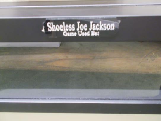 Joe Jackson bat