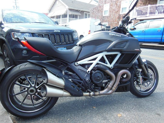 An aggressive styling for the Diavel.