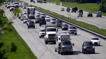 Floridians are heading north ahead of the Friday mandatory evacuation.