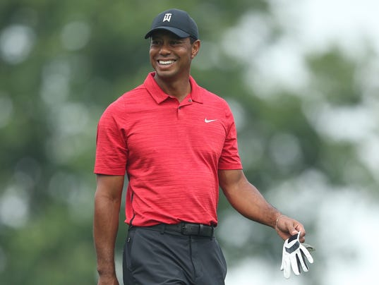 tiger woods in contention on final day at the memorial