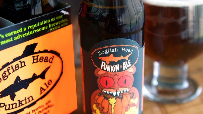 Dogfish Head Craft Brewery's Punkin Ale is its best-selling season beer and in 2014 sports a new label.