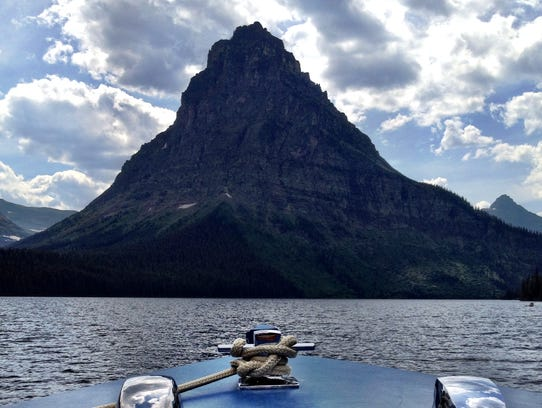 The Little Chief was renamed the Sinopah in the 1940s. The boat provides scenic tours and transportation to trails at Two Medicine Lake. TRIBUNE PHOTO?KRISTEN INBODY
