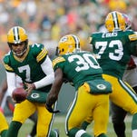 Packers' resurgent run game awaits Aaron Rodgers' return