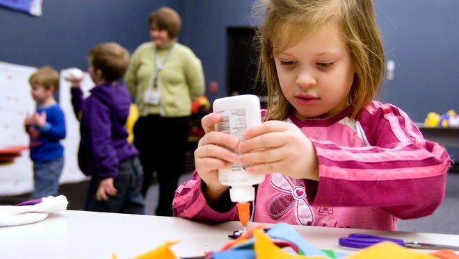 Kindergarten registration time is coming up.