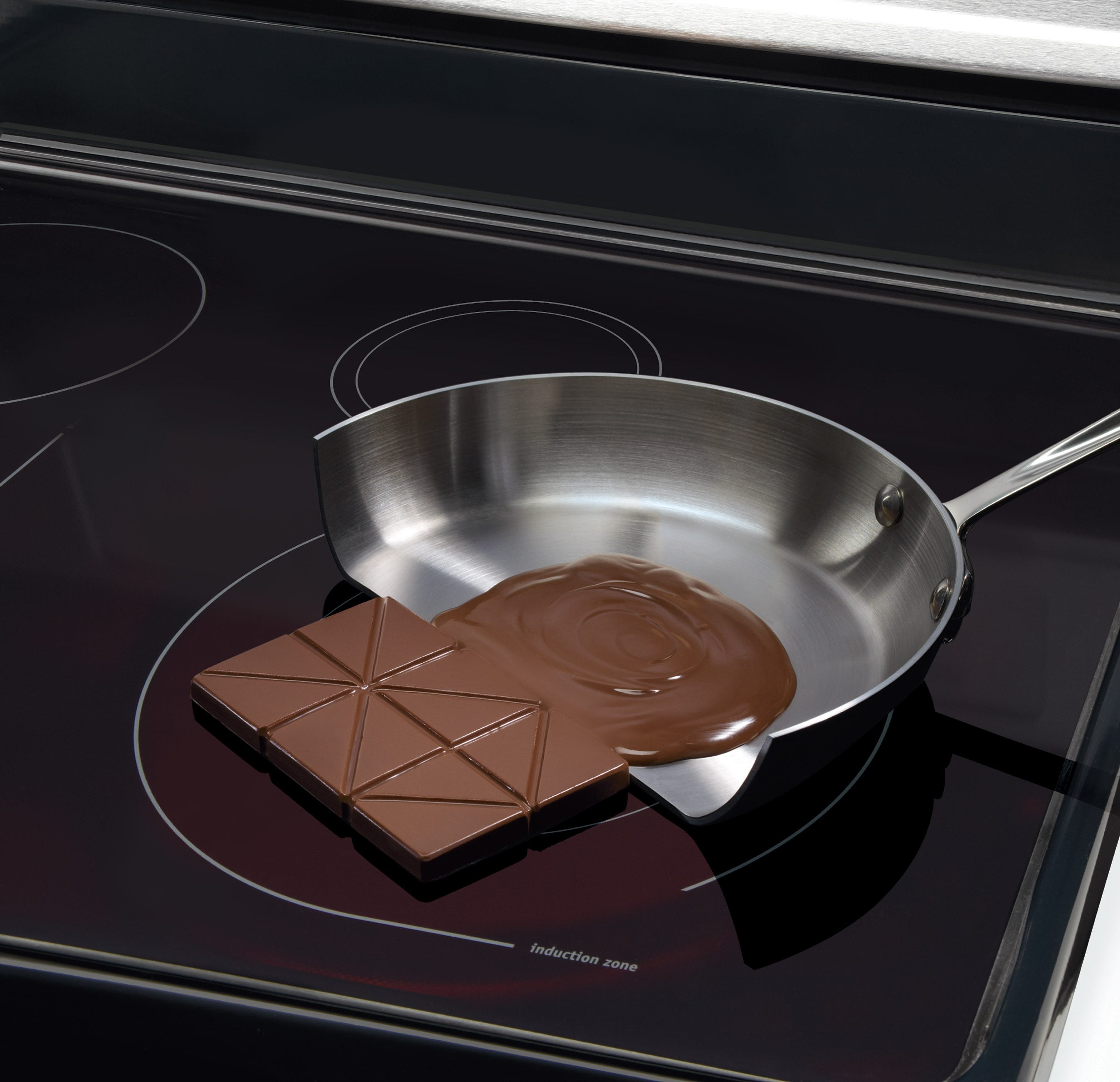 gaining in popularity induction technology uses magnets to heat pots and pans without directly heating the stove top