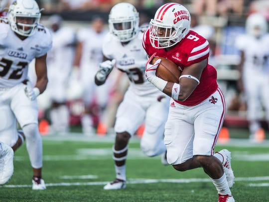 Running back Trey Ragas is near the top of of the list of talented players Billy Napier inherited in his first season with the Cajuns.