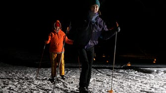 Lapham Peak hosts a popular candlelight ski and hike event every winter.