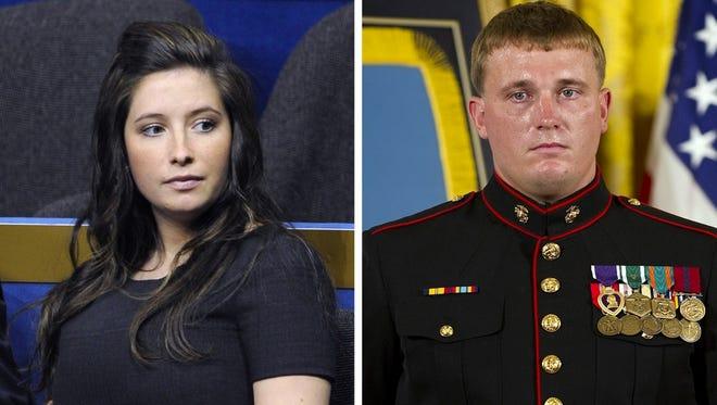 Bristol Palin and Dakota Meyer.