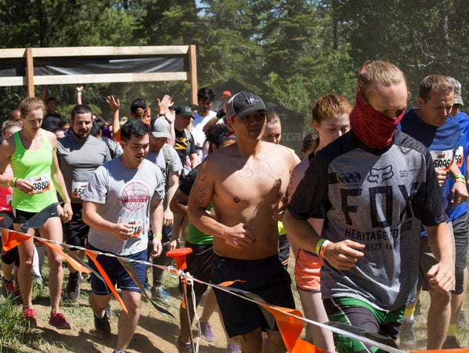 The infamously challenging Tough Mudder returned to