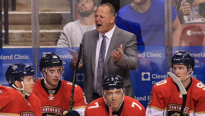 Gerard Gallant has been fired as coach of the Florida Panthers, according to reports.