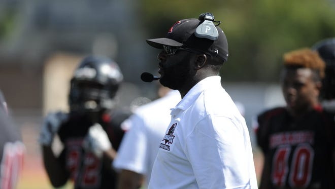 Kennedy coach Ron Jackson and his players earned a big win when they defeated Hackensack on Friday night. It was Kennedy's first win over the Comets since 2007.