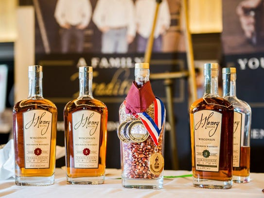 Joe Henry & Sons bourbon is distilled from grains grown