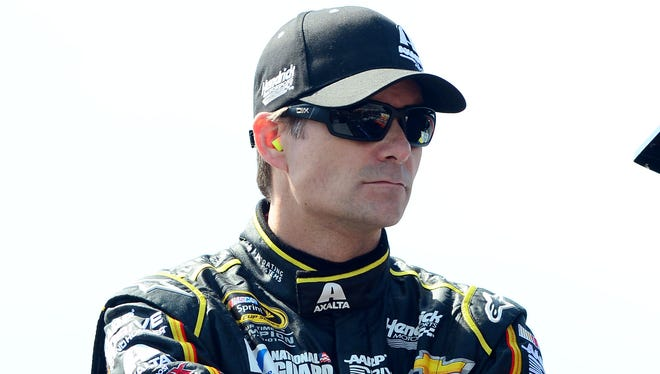 Jeff Gordon said what happened at Fontana was frustrating because it was unclear what was caused the tire problems for roughly a dozen race teams.