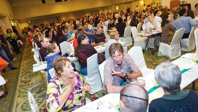 In this file photo, teams participate in the Habitat for Humanity of Guam's Quiz Nite. The next Quiz Nite is  scheduled for Oct. 28 at the Sheraton Laguna Guam Resort.