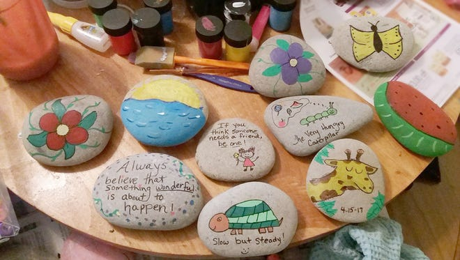 Get ready to paint your own Fairview 615 Rocks! creations at the Fairview Rec Center May 1.