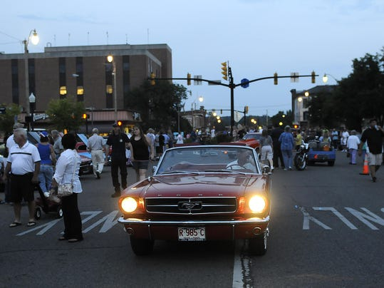 Light The Night Car Show Newark Ohio
