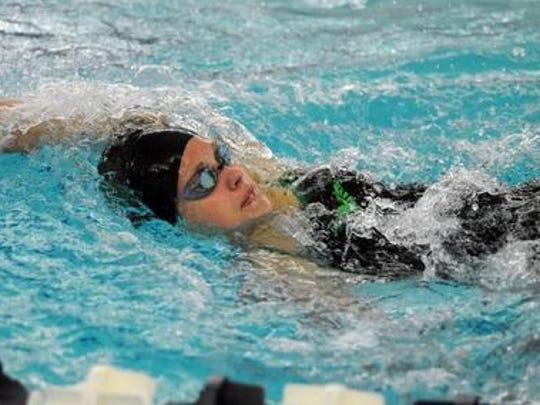 Sophomore Dayna Borregard was a state qualifier in