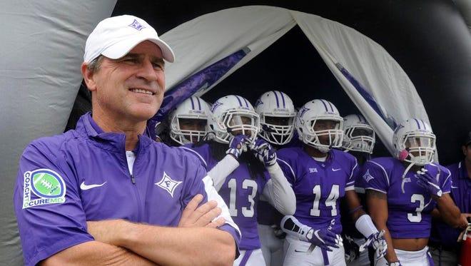 Furman coach Bruce Fowler and the Paladins travel to Western Carolina on Saturday.